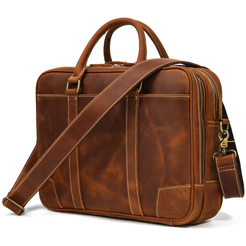 Dixvitas best leather laptop bag for men and professionals