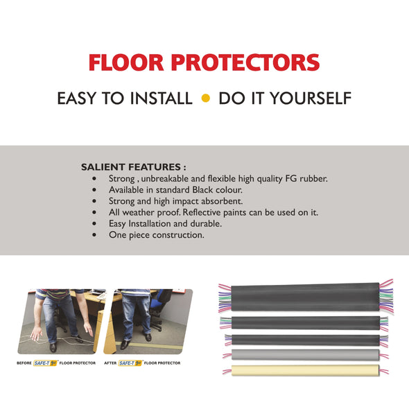 Floor Protector XL1 - 1 Lane Grey