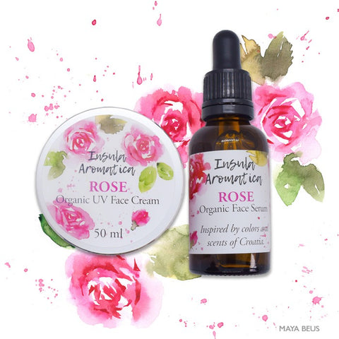 Insula Aromatica Rose Organic Face Serum 30 ml