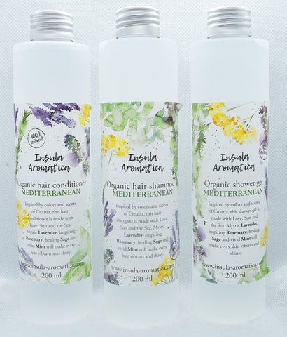 Insula Aromatica Mediterranean 100% Natural Shower Gel 200 ml