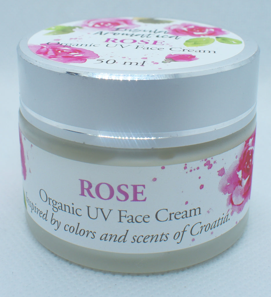 Insula Aromatica Rose 100% Natural UV Face Cream 50 ml