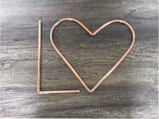 Handcrafted Copper Letter