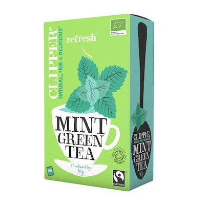 Mint Green Tea - Clipper Mint Tea