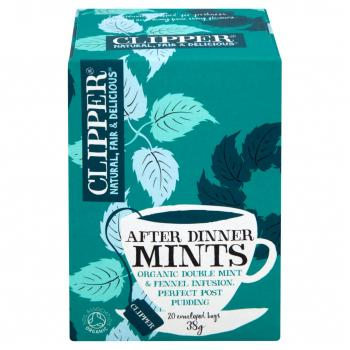 Clipper Organic After Dinner Mints Tea