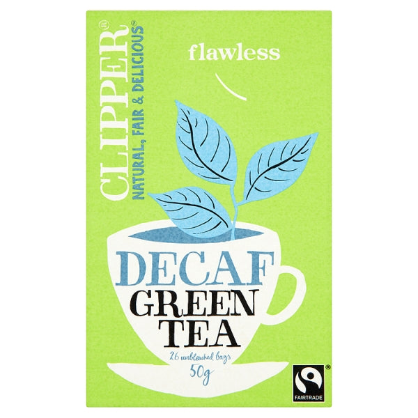 Decaffeinated Green Tea - Clipper Decaf Green Tea