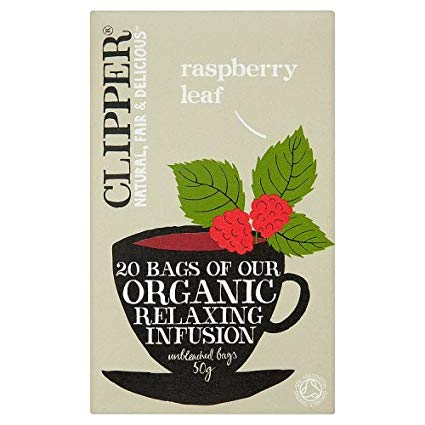 Clipper Raspberry Leaf Tea