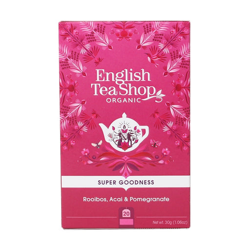 ENGLISH TEA SHOP Organic Rooibos, Acai & Pomegranate 20 Tea Bags