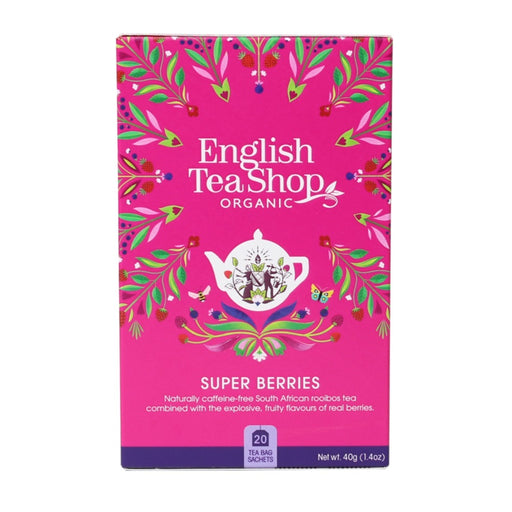 ENGLISH TEA SHOP Organic Superberries 20 Tea Bags