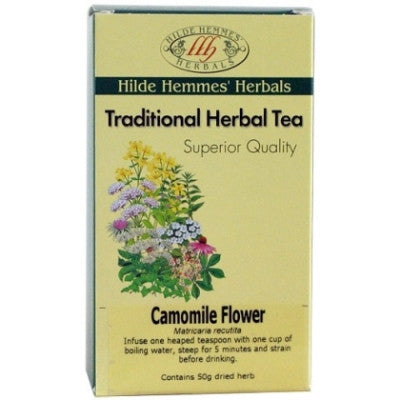 Camomile Flower Tea - Hilde Hemmes Tea