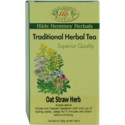 Hilde Hemmes Oat Straw Herbal Tea 50g