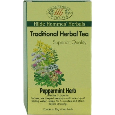 Hilde Hemmes Peppermint Herbal Tea 50g
