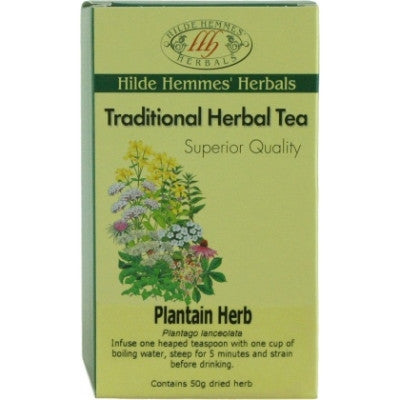 Hilde Hemmes Plantain Herbal Tea 50g