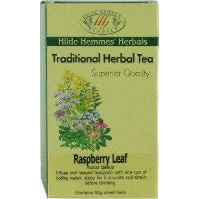 Hilde Hemmes Raspberry Leaf Herbal Tea 50g