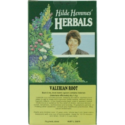 Hilde Hemmes Valerian Root Herbal Tea 75g