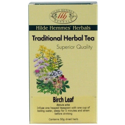 Birch Leaf Tea - Hilde Hemmes Tea