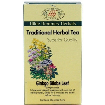 Hilde Hemmes Ginkgo Biloba Leaf Herbal Tea 50g