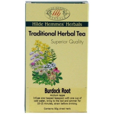 Burdock Root Tea - Hilde Hemmes Tea