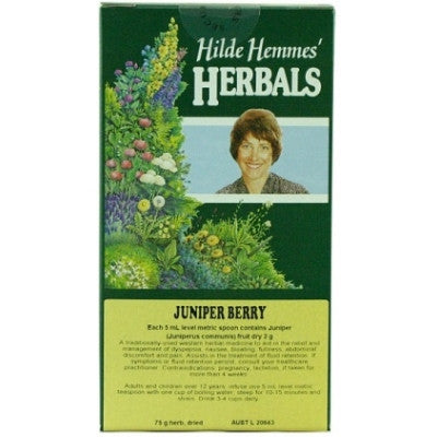 Hilde Hemmes Juniper Berry Herbal Tea 75g