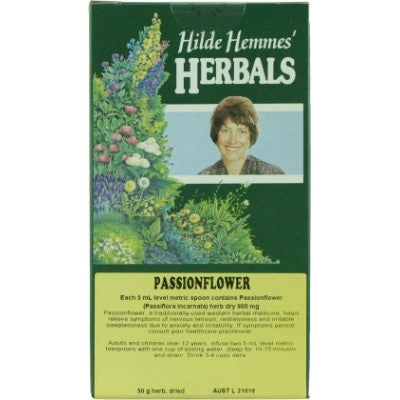 Hilde Hemmes Passionflower Herbal Tea 50g
