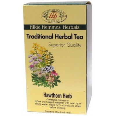 Hilde Hemmes Hawthorn Herbal Tea 50g