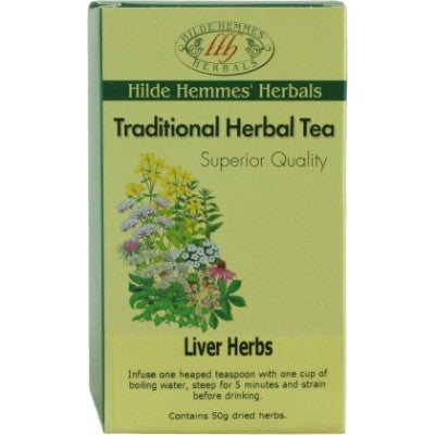 Hilde Hemmes Liver Herbs Herbal Tea 50g