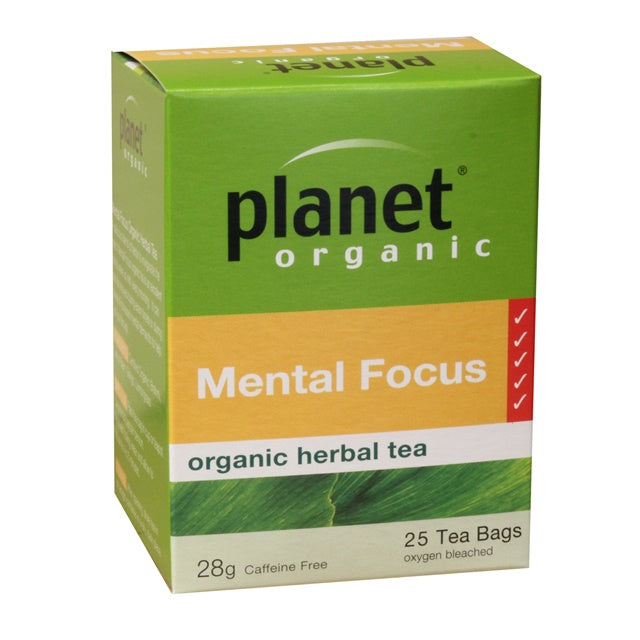Planet Organic Mental Focus Tea