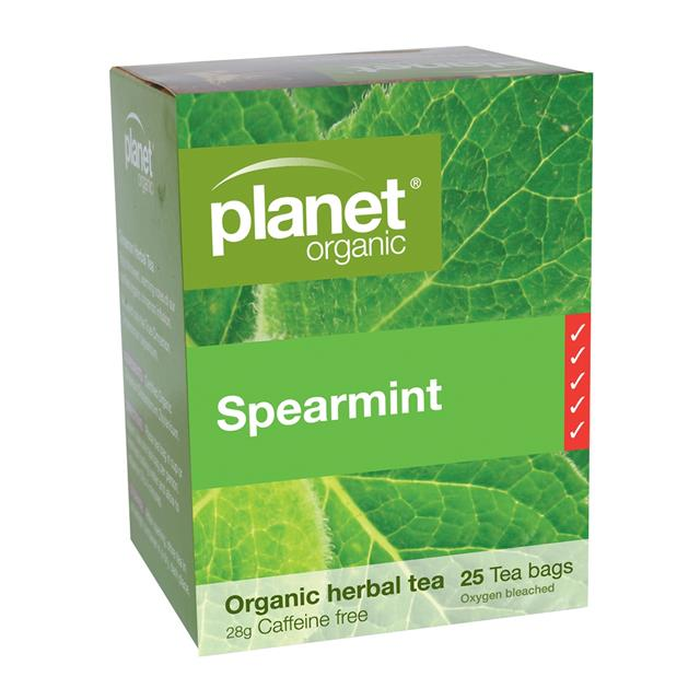 Spearmint Herbal Tea - Planet Organic Spearmint Tea