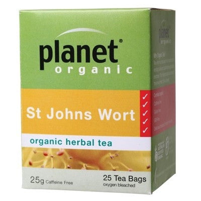 St John's Tea - Planet Organic St Johns Wort Tea
