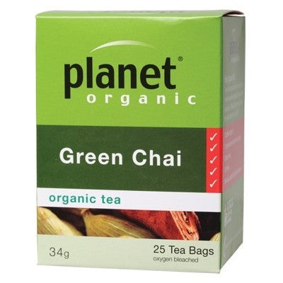 Planet Organic Green Chai Tea