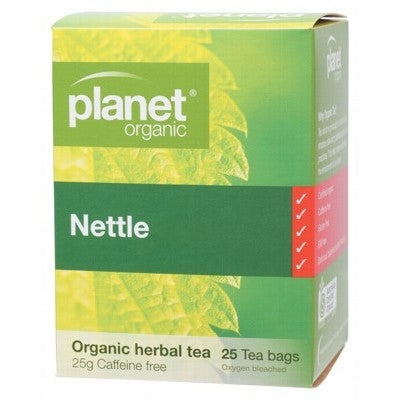 Nettle Tea Bags - Planet Organic Nettle Tea