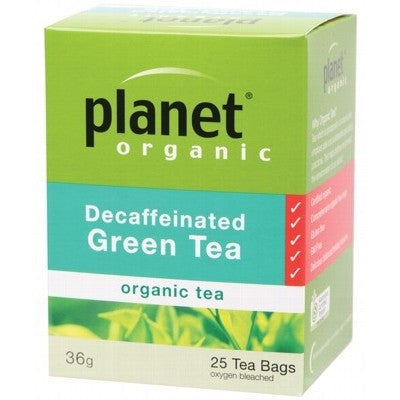 Planet Organic Decaffeinated Green Tea