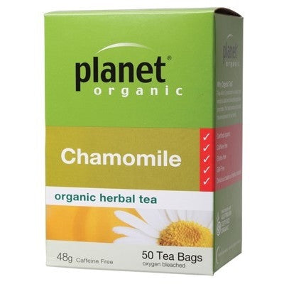 Planet Organic Chamomile Tea 50 bags