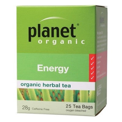 Herbal Tea For Energy - Planet Organic Tea