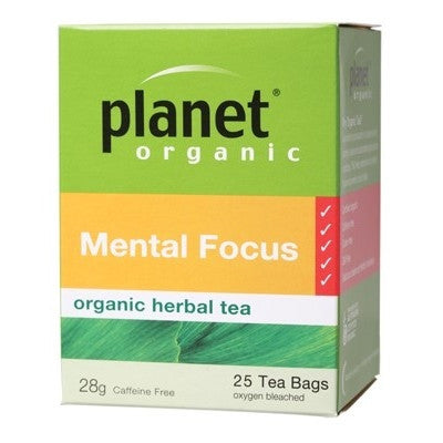 Planet Organic Mental Focus Herbal Tea