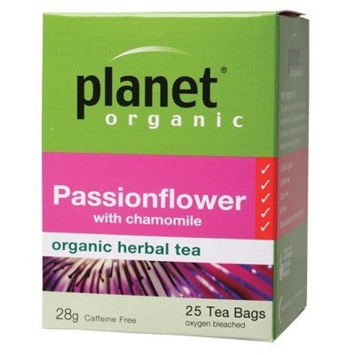 Planet Organic Passionflower Herbal Tea