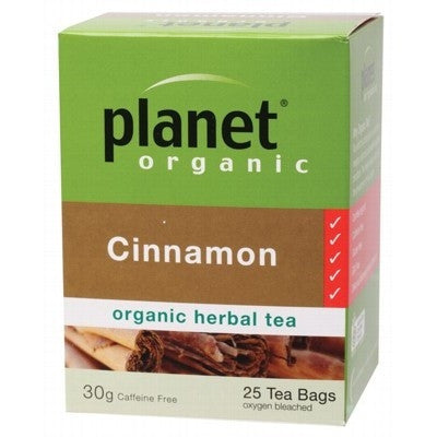 Planet Organic Cinnamon Herbal Tea