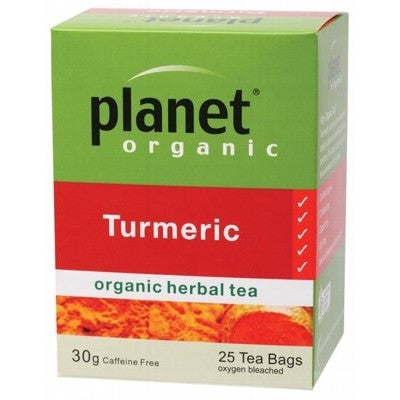 Turmeric Herbal Tea - Planet Organic Turmeric Tea