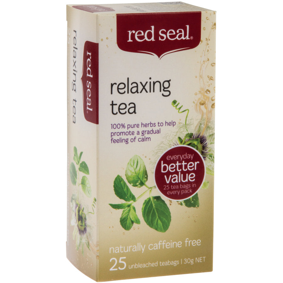Red Seal Relaxing Tea - 25 Tea Bags