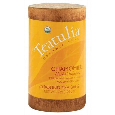 Teatulia Organic Chamomile Herbal Tea 30 bags