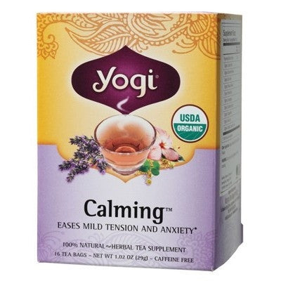 Yogi Calming Tea - Yogi Anxiety Tea