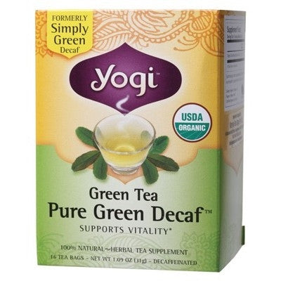 Yogi Pure Green Decaf Tea