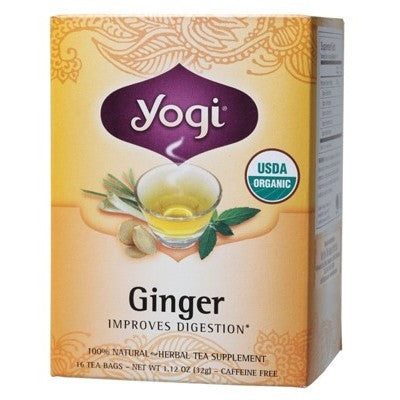 Yogi Ginger Tea - Yogi Tea Digestion