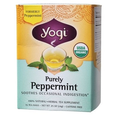 Yogi Purely Peppermint Tea