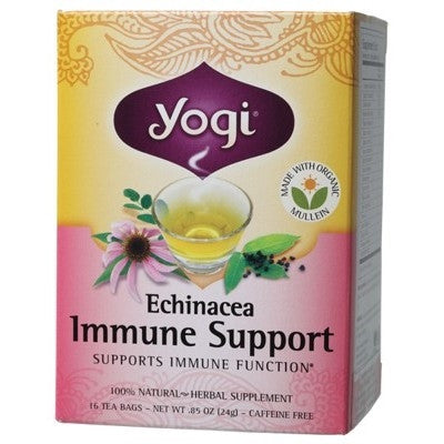 Yogi Tea Immune Support - Yogi Tea Echinacea
