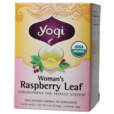 Yogi Womans Raspberry Leaf Tea