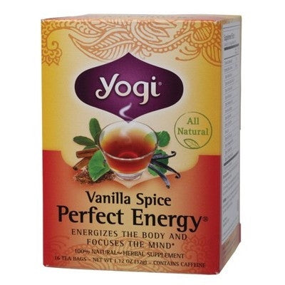 Yogi Perfect Energy Vanilla Spice Tea