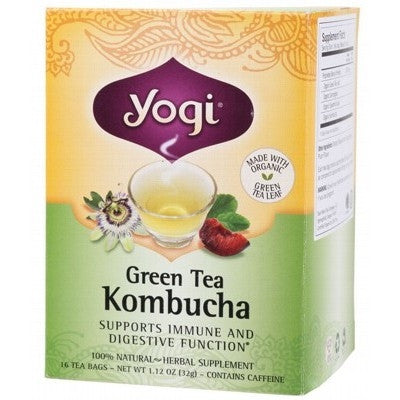Yogi Green Tea Kombucha