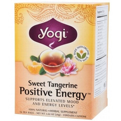 Yogi Sweet Tangerine Positive Energy Tea