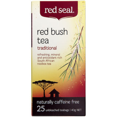 Red Seal Red Bush Rooibos Tea 25 tbags