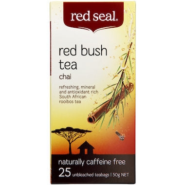 Red Seal Red Bush Chai Tea 25 tbags